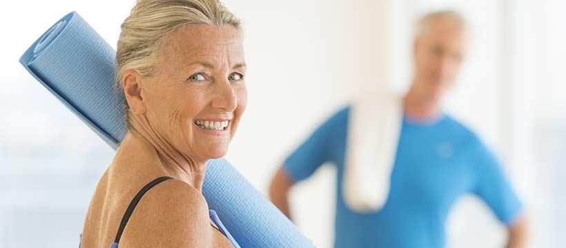 Du sport pour prévenir l'ostéoporose dès le début de la ménopause