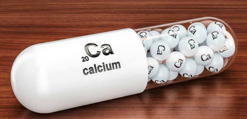 Capsule de calcium